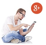 nous suivre réseaux sociaux google plus internet bulle