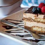 tiramisu gâteau chocolat framboise mousse génoise dessert