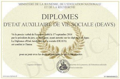 philosophie de home services diplômes DEAVS Auxilaire
