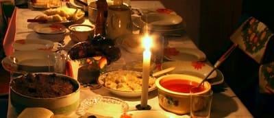 réveillon fêtes noël année cadeaux bougies